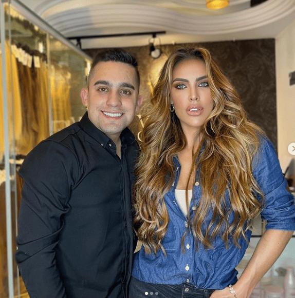 'Rey de las Extensiones' recordó el cabello estropeado que tenía Yina Calderón